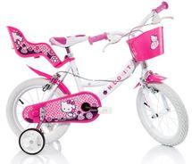 DINO BIKES - Dětské kolo 164RHK Hello Kitty se sedačkou pro panenku a košíkem - 16