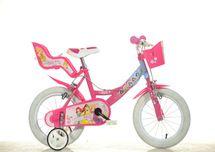 DINO BIKES - Dětské kolo 164RPSS Princess se sedačkou pro panenku a košíkem - 16
