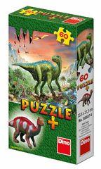 DINO - Dinosauři + Figurka 60 dílků