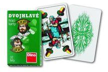 DINO - Hrací Karty Dvouhlavé