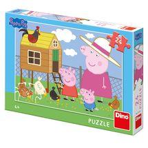 DINO - PePa Pig: Slepičky 24 dílků