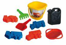 DINO - Transformers pískový set kanystr 9ks