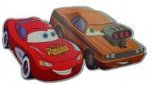 DISNEY - Dekorace 2V McQueen & Snot Rod