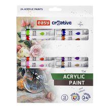 EASY - Akrylové barvy 24 ks