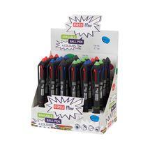 EASY - EASY FLOW 4COLOURS Přepisovatelné pero čtyřbarevné s gumou