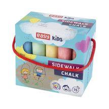 EASY - EASY Colours-chodníkové křídy 15 ks/sada