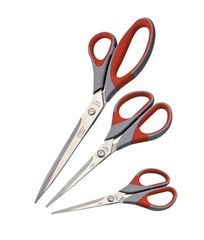 EASY - Kancelářské nůžky 21,5cm - pogumované 1ks/bal