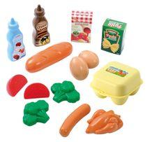 ECOIFFIER - Plastové hračky potraviny v síťce