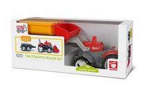 EFKO-KARTON - Igráček Multigym 1 + 2 traktor s přívěsem 27055