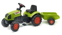 FALK - Šlapací traktor 2040 Claas Arion s vlečkou