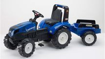 FALK - Šlapací traktor New Holland T8 s vlečkou 3090B
