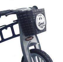 FIRST BIKE - Košík na volant černý