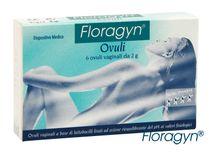 FLORAGYN - Vaginální čípky 6 ks