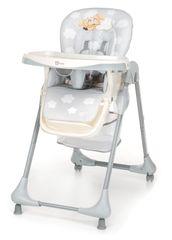 GMINI - Židlička jídelní Melisa,Ovečka, cool grey