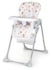 GMINI - Jídelní židle Simply SHELL šedá