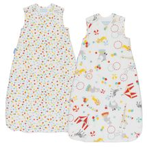 GRO - Vak spací  Roll Up Wash & Wear Twin Pack 2.5 Tog 6-18m Grobag