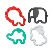 INFANTINO - Kroužky spojovací zvířátka 24 ks zelené