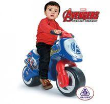 INJUSA - Odrážedlo Moto Neox Avengers, modré