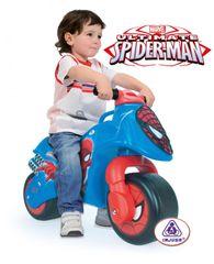 INJUSA - Odrážedlo Moto Spiderman New, modré