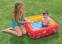 INTEX - baby nafukovací čtvereční bazén Cars 85 x 23 cm, katalogové číslo 57101