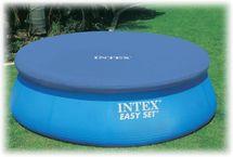 INTEX - krycí plachta na bazén kulatá o průměru 305 cm