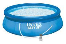 INTEX - nafukovací bazén 244x76 cm s filtračním zařízením