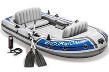 INTEX - nafukovací člun Excursion 4 SET