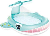 INTEX - nafukovací dětský bazének Velryba se sprškou 57440