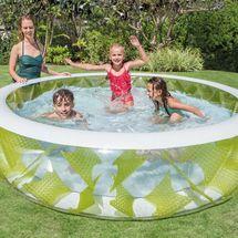 INTEX - Nafukovací kruhový průhledný bazén 57182