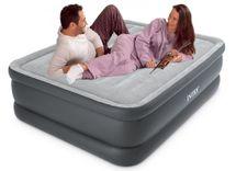 INTEX - nafukovací postel 64140 Essential QUEEN s integrovanou elektrickou pumpou