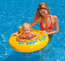INTEX - nafukovací sedačka do vody Baby float 70 cm