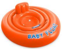 INTEX - nafukovací sedačka do vody Baby float 76 cm oranžová