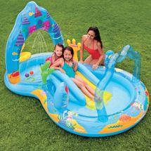 INTEX - nafukovací bazénové hrací centrum Mořská panna 57139