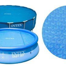 INTEX - solární plachta kulatá na bazén o průměru 305 cm
