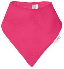 IVEMA BABY - Fleesová šátek na krk - malina