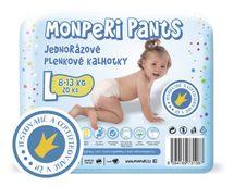MONPERI - Jednorázové kalhotky 8-14 kg kalhotky - Pants L (balení 20 kusů)