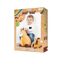 JOHN - hopsadlo poník s potahem