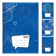 JUNIOR - Sešit A5, 20 listový - čistý 520