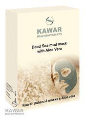 KAWAR - Pleťová maska s Aloe vera 300 g (4X75 g sáček)