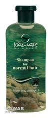 Kawar - Šampon na normální vlasy s minerály z Mrtvého moře 400ml