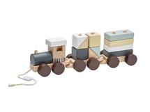 KIDS CONCEPT - Vlak z kostek Neo dřevěný