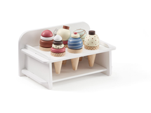 KIDS CONCEPT - Zmrzlina dřevěná se stojanem Bistro