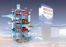 KLEIN - Bosch garáž - 4 patra