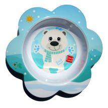LABEL LABEL - Friend Miska s květinovým tvarem - lední medvěd