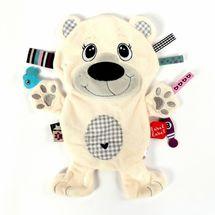 LABEL-LABEL - Lední medvěd, bílá