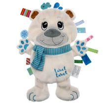 LABEL-LABEL - Medvídek, bílý