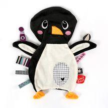 LABEL-LABEL - Pinguin, šedobílá