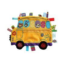 LABEL-LABEL - Školní autobus, žlutý