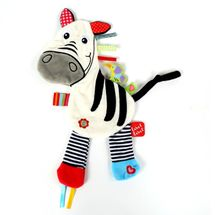 LABEL-LABEL - Zebra, bíločerná