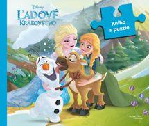 Ľadové kráľovstvo - kniha s puzzle